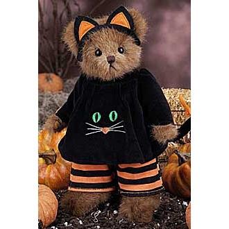 Мишка в костюме кота(25 см)