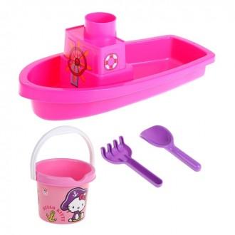 Набор песочный Hello Kitty (под заказ)