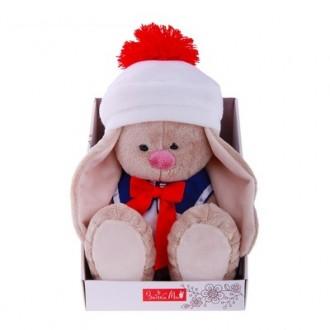 "Мягкая игрушка ""Зайка Ми"" морячка (23 см) под заказ"