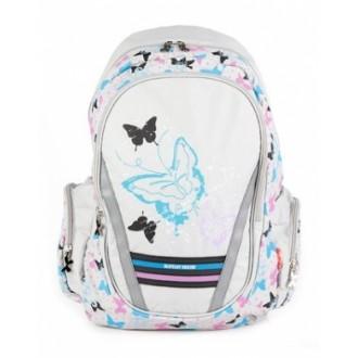 Рюкзак Hatber FANTASY Night Butterfly серый