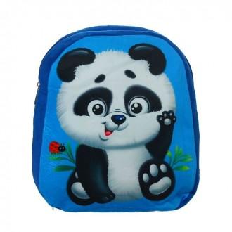 "Детский рюкзак ""Пандочка"", 31 × 26 см (под заказ)"