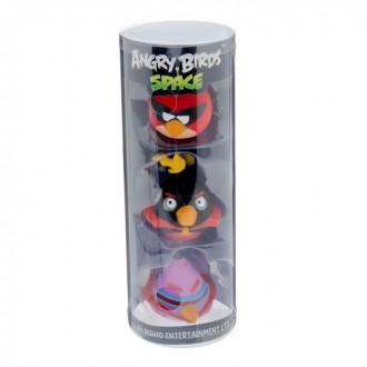 """Резиновая игрушка Angry birds """"Злые птички"""", набор 3 шт (под заказ)"""