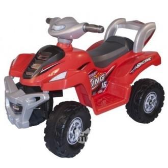 Электромобиль-квадроцикл Desert King Avanti, красный