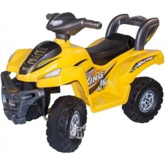 Электромобиль-квадроцикл Desert King Avanti,желтый