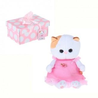 """""""Кошечка Ли-Ли BABY"""" в розовом платье (20 см)"""