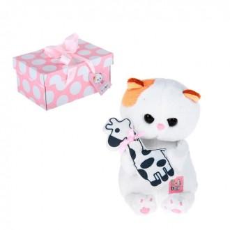 """Мягкая игрушка """"Кошечка Ли-Ли BABY"""" с жирафиком (20 см)"""