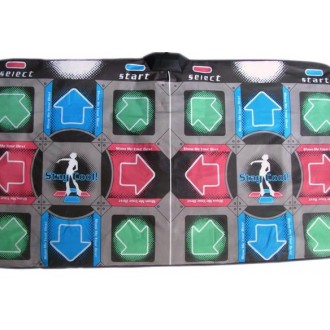 Танцевальный коврик для двоих КЛАССИК 32 bit БЕСПРОВОДНОЙ TB /PC /USB / Wii Nintendo