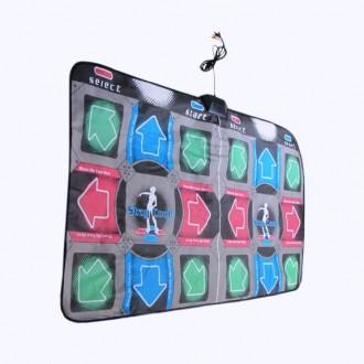Двойной танцевальный коврик Классик 32 Бит + флешка 4 Гб