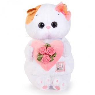 ЛИ-ЛИ BABY с розовым сердечком (20 см)