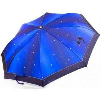 Зонт женский полуавтомат (Синий) Zest 53626 (Великобритания)
