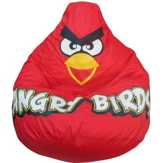 Кресло-мешок Красная птичка