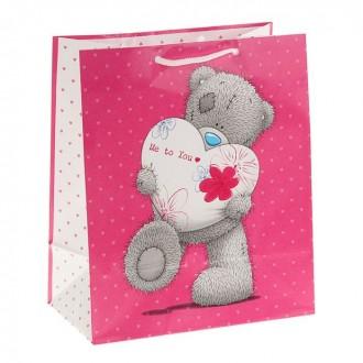 """Пакет подарочный """"Мой заботливый Мишка"""", 24 х 20.3 см"""