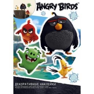 НАКЛЕЙКИ ДЕКОРАТИВНЫЕ ANGRY BIRDS 335*470