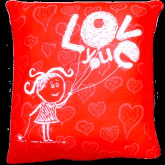 Подушка-антистресс Любовь 35 см