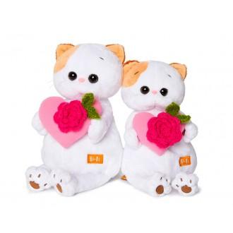Кошечка Ли-Ли с розовым сердечком (24 см)