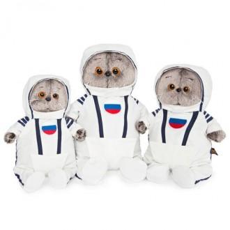 Кот Басик в костюме космонавта (22 см)