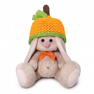 Зайка Ми в шапке мандарин (15 см)
