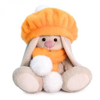 Зайка Ми в оранжевом берете (малыш) 15 см