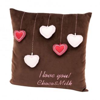 Подушка Choko: Сердечки (35 cм)