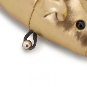 Поросенок Гламурыш 12 см (золотой)