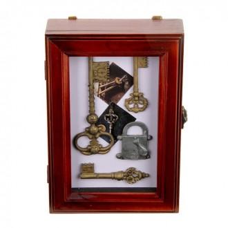 """Ключница """"Тайны за семью замками"""" 17 см × 25 см"""