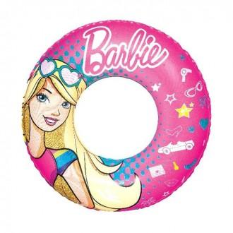 Круг для плавания Barbie d=56см, от 3-6 лет