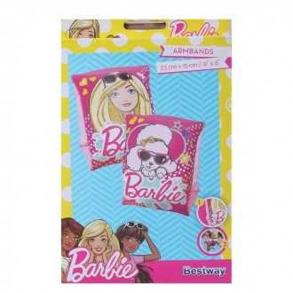 "Нарукавники для плавания ""Барби"", 23 х 15 см, от 3-6 лет"