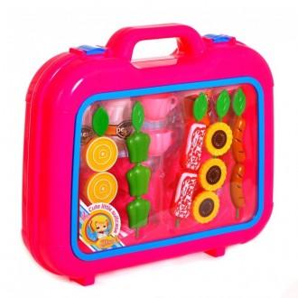 """Игровой набор """"Конфеты"""" в пластиковом чемоданчике (Cute little suitcase) FDE604"""