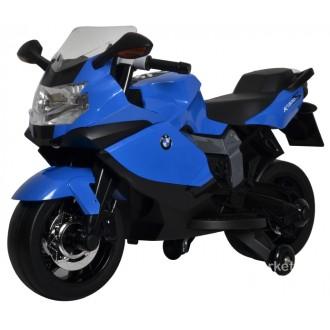 Электромотоцикл BMW 6V, цвет синий