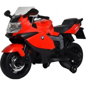 Электромотоцикл BMW 6V, цвет красный