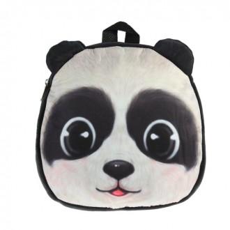 "Мягкий рюкзак ""Панда""  25 см × 25 см (под заказ)"