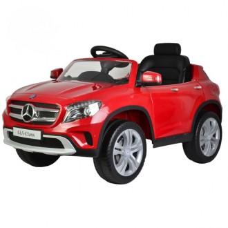 Детский электромобиль Mercedes-Benz GLA 12V с открывающимися дверьми