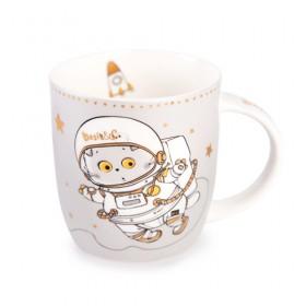 Кружка BUDI BASA souvenirs Космонавт 400 мл
